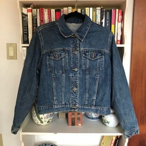 Vintage Denim Trucker Jacket